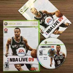 Jogo Nba Live 09 - Xbox 360 - Mídia Física Seminovo
