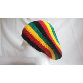 Gorro Gorra Invierno Boina Rasta Reggae Moda Unisex Unitalla 3e6c6fd1a85