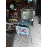 Antiguo Televisor De Bulbos Sylvania Para Decoración Vintage