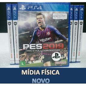Pes 2019 Ps4 Pro Evolution Soccer 19 Mídia Física Lacrado