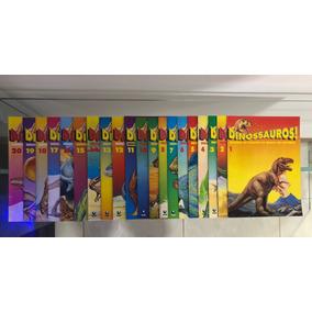 Coleção Completíssima Revista Dinossauros - Editora Globo