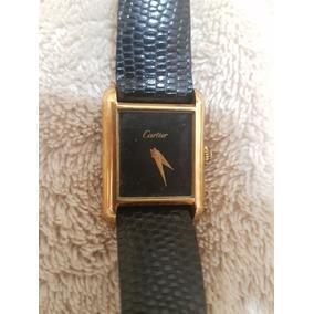 ab88786f18b Relogio Cartier Tank Feminino - Relógios no Mercado Livre Brasil