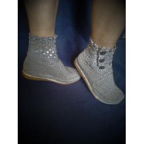 Zapatos Tejidos Crochet Damas - Zapatos Mujer en Mercado Libre Venezuela fd3a5e015c1