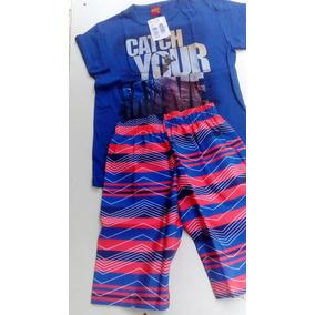 Conjunto Infantil Masculino Kyly Camiseta E Bermuda 108948