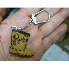 Chaveiro Antigo : Bota - Lembrança De Porto Alegre