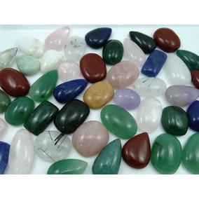 Cabochão Mix Pedras Naturais 2,5 ~4 Cm - Lote 1000 Cts
