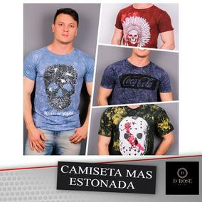Kit 10 Camisetas Estonadas Perfumadas - Calçados 014e040476fb3