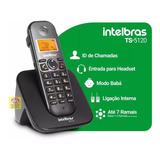 Telefone Sem Fio Intelbras Ts5120 Viva Voz Identificador Nfe