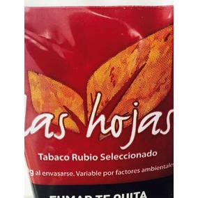 Tabaco Las Hojas Rubio X 50 Gramos / Tabaco Para Armar Cigar