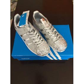 san francisco 25e32 95309 Zapatillas adidas Superstar - Gliter - Plateada
