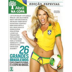 Abril Na Copa Edição Especial Adriane Galisteu - 60 Páginas