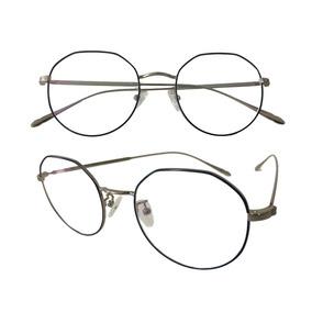 c0d945e641e9f Armação Feminina Oval Óculos Metal Linda Da Moda Lk047