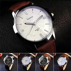 30d3d84ab Relogio Numeros Romanos Yazole - Relógios no Mercado Livre Brasil