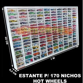 Estante Expositor 170 Hot Wheels Carrinho Minis 1;64 Coleçao