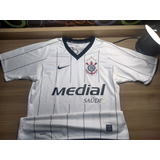 2009 Camisa Do Corinthians Nike Medial 2008 - Futebol no Mercado ... 21620dd8084b8