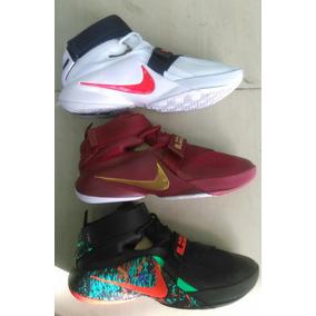 Zapatilla Nike Lebron Soldier - Tenis Nike para Hombre en Mercado ... 7c0f576347753