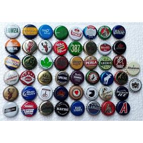 Tampinhas Antigas Cerveja 50 Tampinhas Sortidas E Coloridas