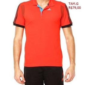 Camisa Polo adidas Masculina Original Promoção Jp Sports · R  79 90 f0a6182b94957