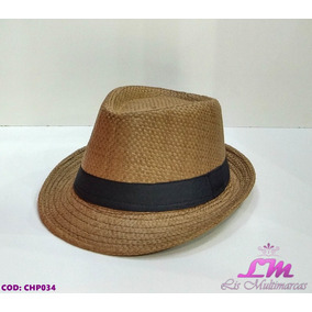 a28fb4cd36027 Chapeu Panama Tamanho 56 - Chapéus no Mercado Livre Brasil