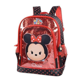 Minnie Mochila Escolar Infantil Is32391ts Original + Nfe