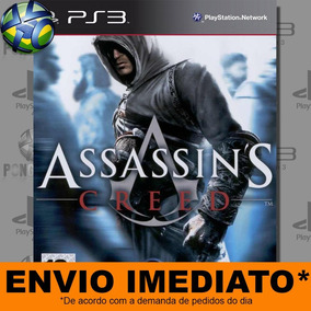 Jogo Ps3 Assassins Creed 1 Psn Play 3 Mídia Digital