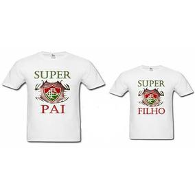 6f4bd9b4ae Fluminense Pai E Filho - Camisetas para Masculino no Mercado Livre ...