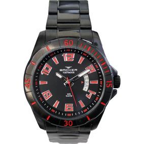 262af7bbe51 Relógio Backer Masculino Slim 10816112m Pr Original E Barato. São Paulo · Relógio  Backer - 6218253m Pr