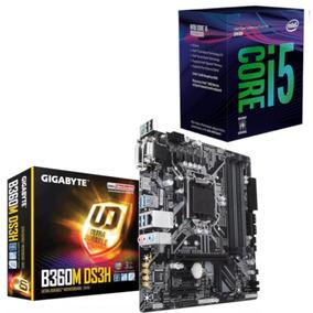 Kit Processador Intel I5 8400 + Placa Gigabyte B360m Ds3h