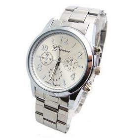 d8beb12b6a1 Relogio Quartz Classico Geneva - Joias e Relógios no Mercado Livre ...
