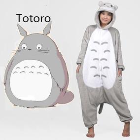 Kigurumi Totoro Pijama Complet Onesie Mameluco Moda Japonesa
