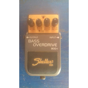 Bass Overdrive (distorção) Shelter