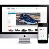 Loja Virtual Tênis Esporte Artigo Esportivo Site Vendas Fit 3bad0db9d6bb8