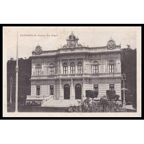 Postal - Petrópolis - Palácio Rio Negro