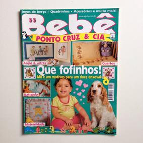 Revista Bebê Ponto De Cruz & Cia Anjos Letras Quartos Nº54