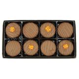 Filadelfia Dulces De Leche Chocolate Cubrió Las Galletas Ore