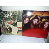 Lote 2 Lps Abba Sucessos / Bee Gees Spirits Ne
