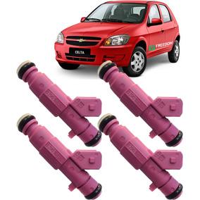 Kit 4 Bico Injetor Chevrolet Corsa Celta 1.0 Flex 93345364