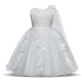 Vestido De Festa Infantil Casamento Formatura Daminha