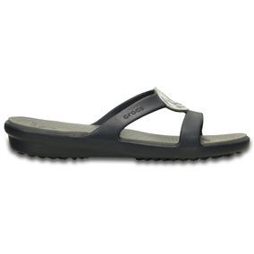 Crocs - Sanrah Beveled Circle Sandal_203341-49d