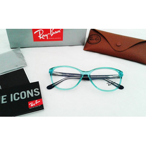 Lentes Ray Ban Oftalmicos Rb5016 Armazon Medida 53mm