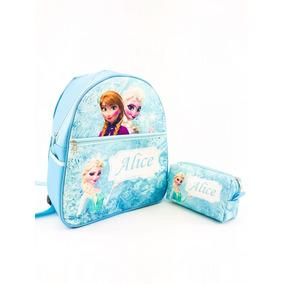 Mochila Bebê Infantil Enxoval Luxo Personalizada Frozen