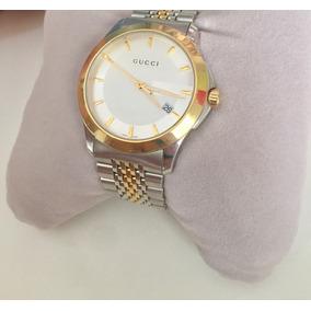 Relógio Gucci Timeless A Banhado À Ouro + Garantia Promoção