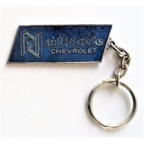 Chaveiro Antigo Metal - Concessionária Chevrolet Autonorte