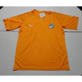 Camiseta De Costa De Marfil Marca Puma Naranja, Talle M