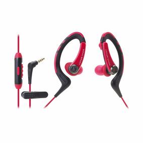 Fone De Ouvido Audio Technica Ath Sport1is Vermelho