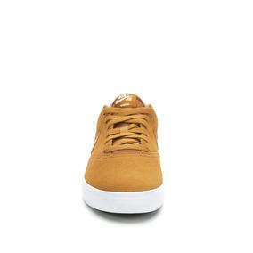 Zapatillas Nike Sb Check Prm Gamuza Cuero Marron Claro 770 1f7f8f49166