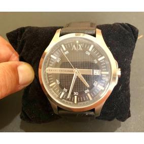 Relógio Masculino Armani Exchange Ax 2101 Pulseira De Couro ... f473ce25dd