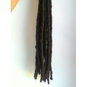 Kit 20 Dreads Sinteticos 50centimetros ( 20 Preto.. )