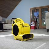 Soplador Ventilador Turbina Secador Pisos 500 Cfm Shop Air