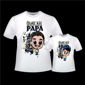 Playera Padre Hijo Futbol en Mercado Libre México 08993b3e93926